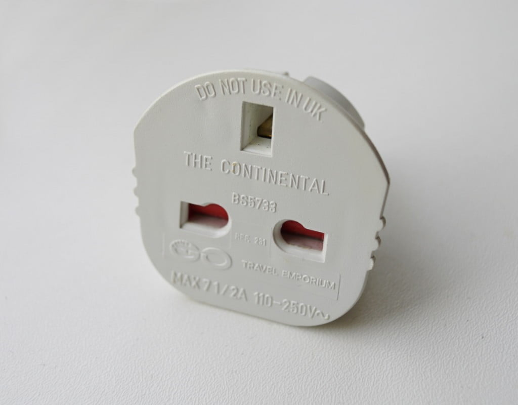 UK to Type F Adapter