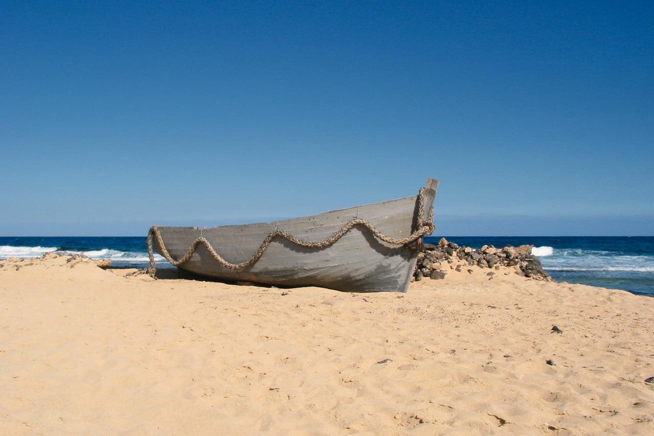 Boat on the Beach, Corralejo, Fuerteventura