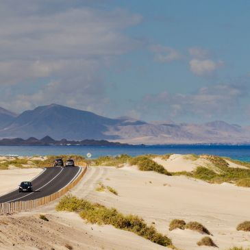 How to get to Corralejo from the Airport