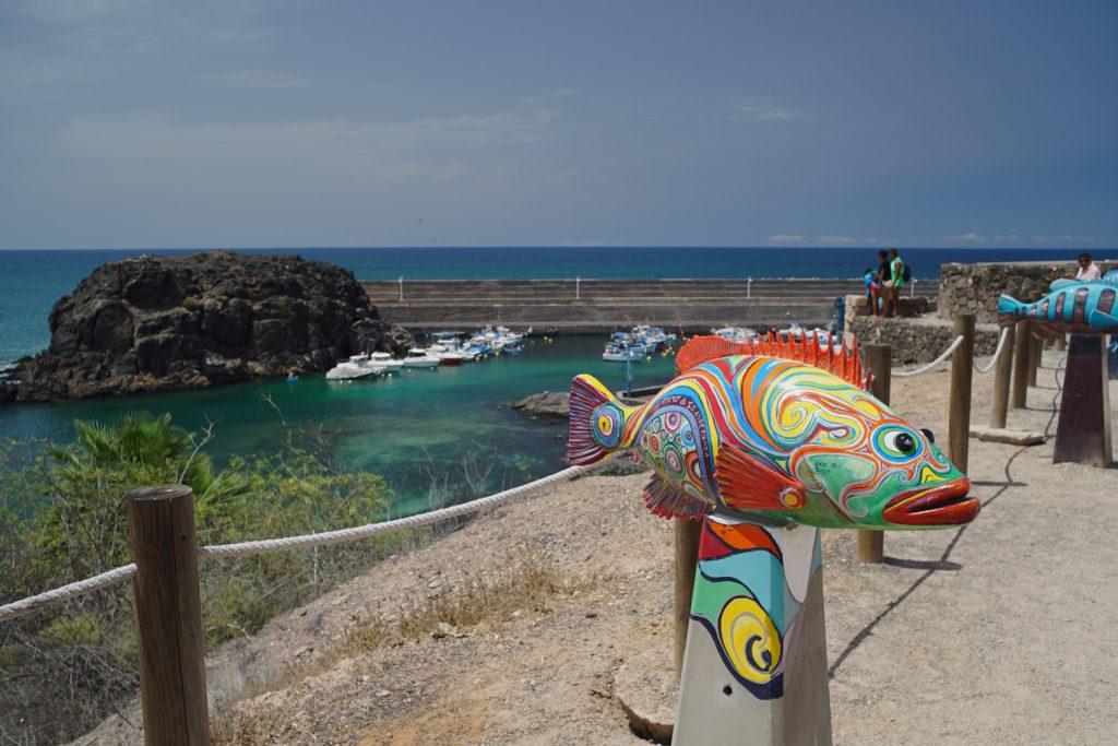 El Cotillo Fish Sculpture