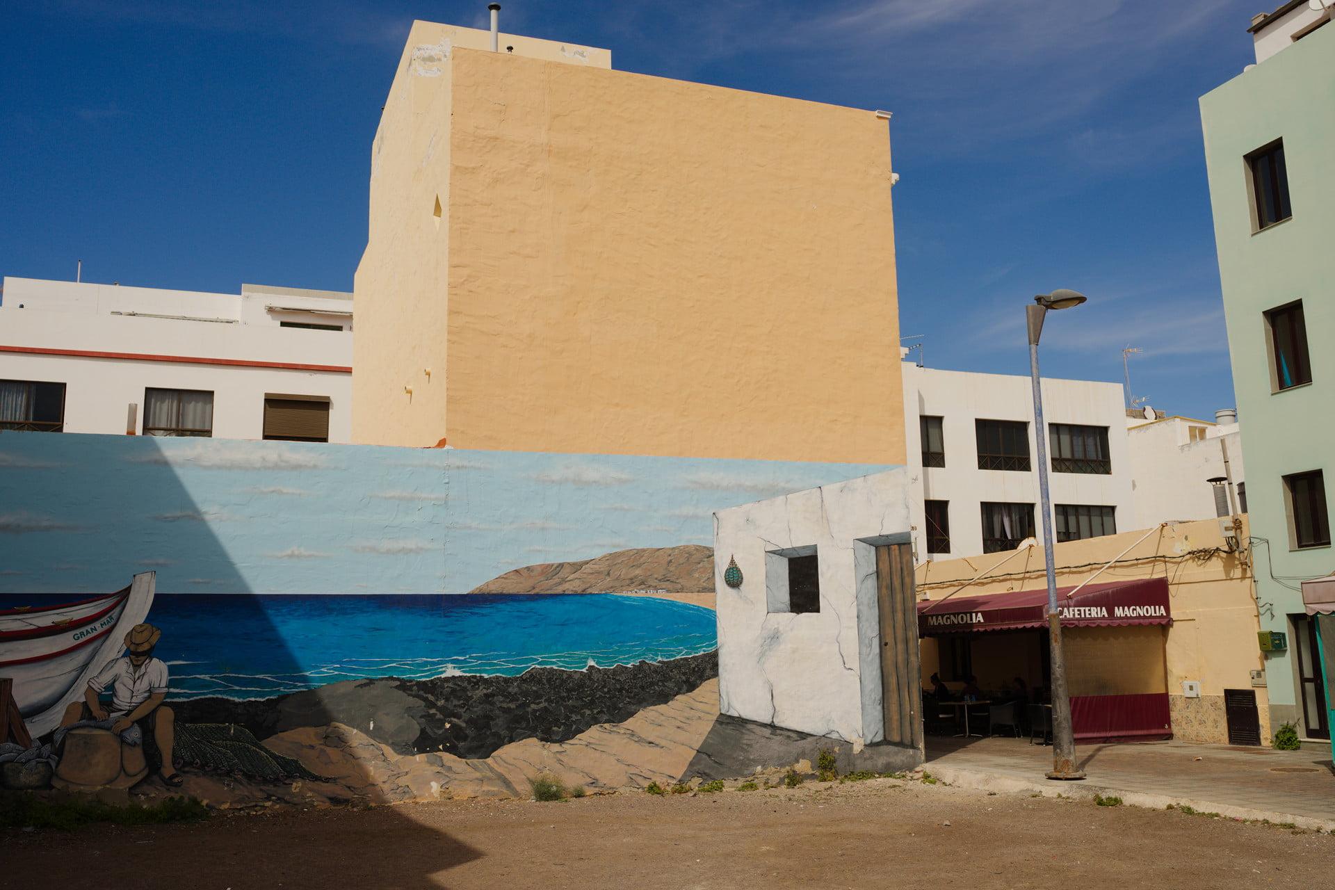 Street Mural in Gran Tarajal