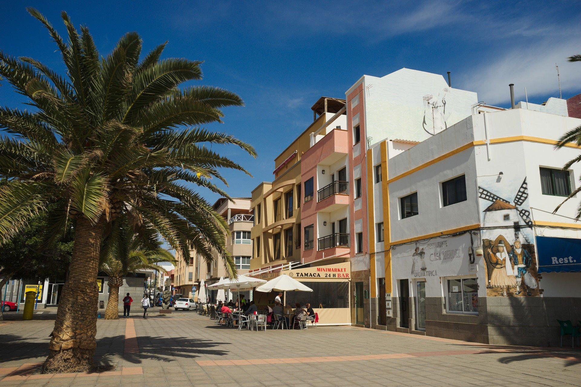 Square in Gran Tarajal, Fuerteventura