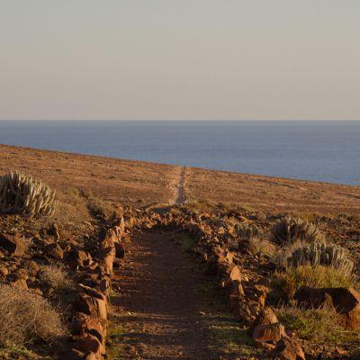 Hiking Trail in Fuerteventura