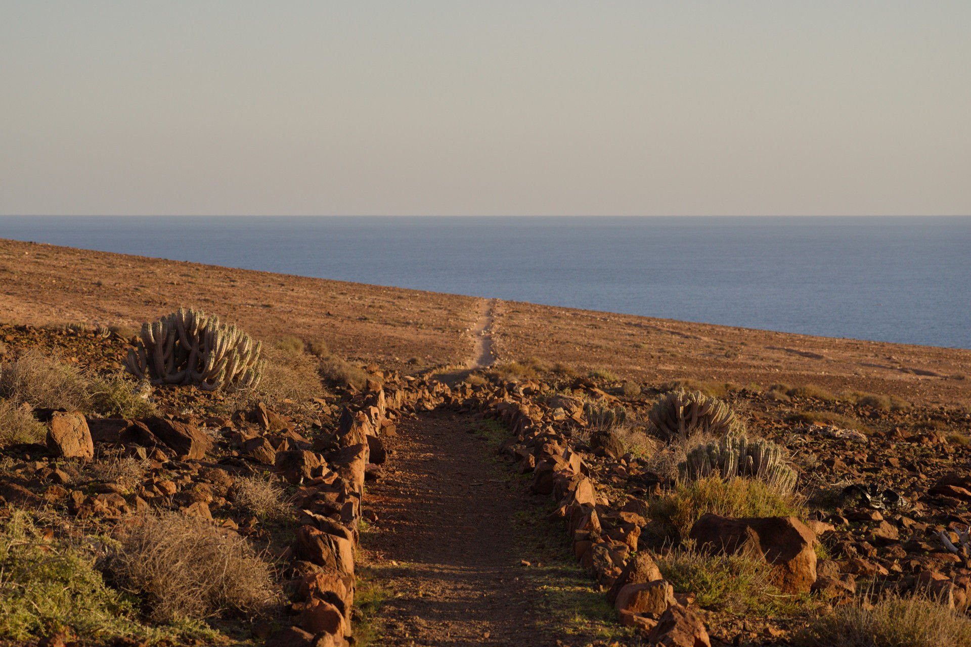 Hiking Trail in Fuerteventura