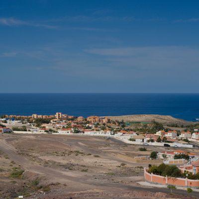 View of La Pared town, Fuerteventura