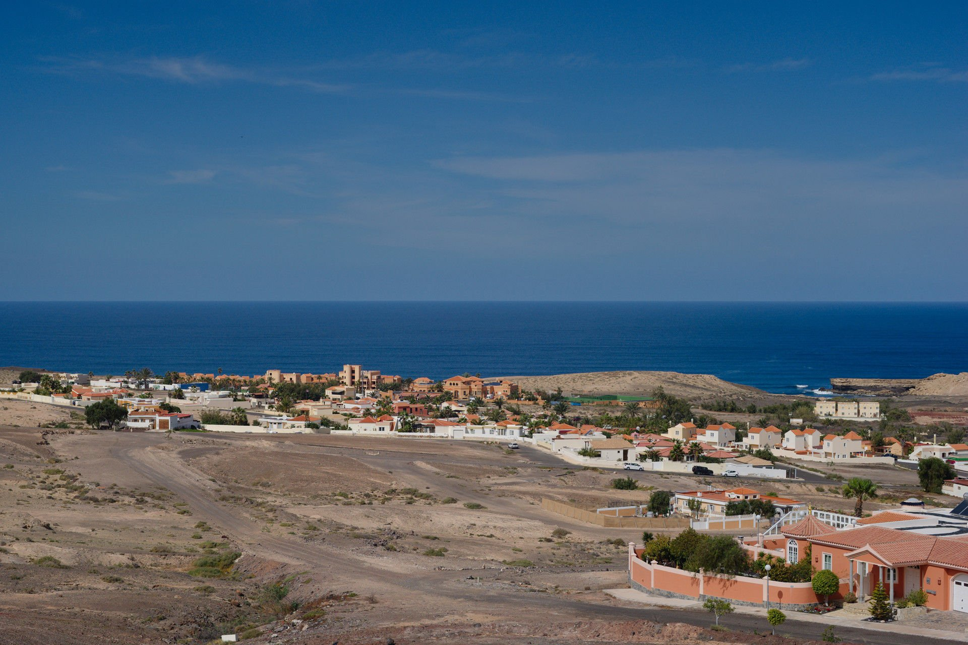 View of La Pared town, Fuerteventura