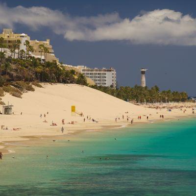 Playa de la Cebada, Morro Jable, Fuerteventura