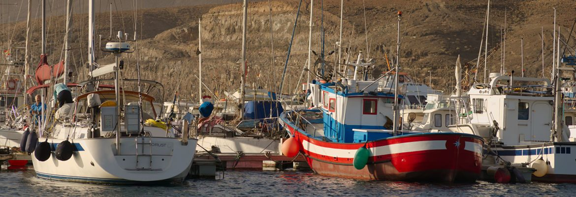 Fishing Boats in Morro Jable, Fuerteventura