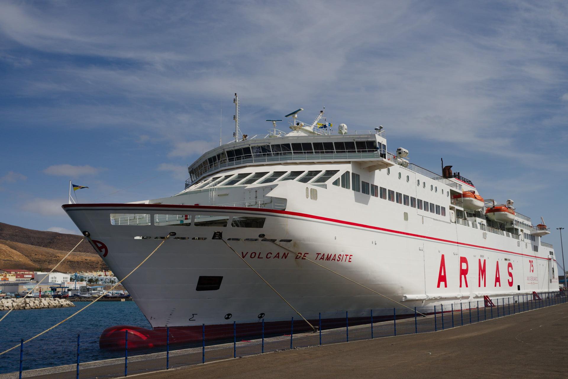 Naviera Armas Volcan de Tamasite Ferry