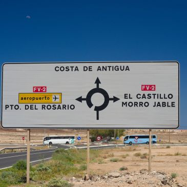 How to get to Costa de Antigua from the Airport