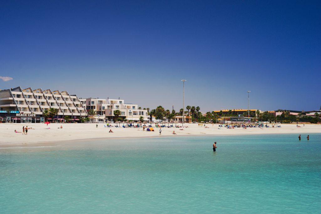 Playa de Castillo, Caleta de Fuste, Fuerteventura