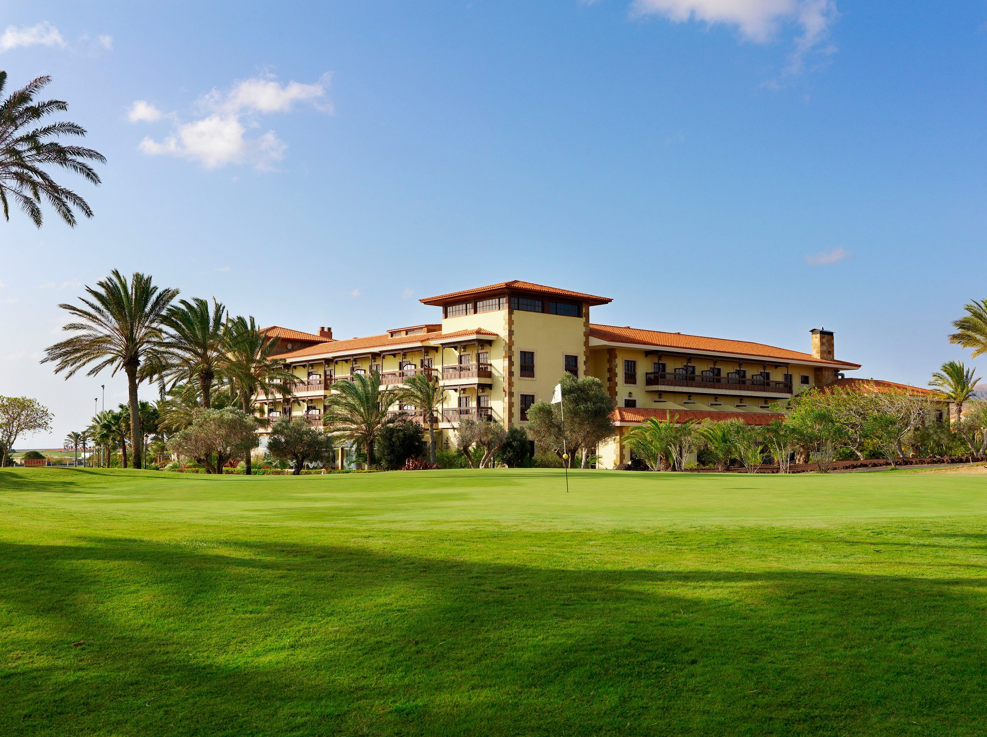 The exterior of the Elba Palace Golf & Vital Hotel