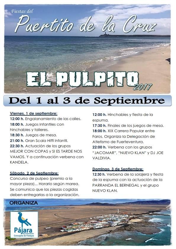 Fiesta El Pulpito 2017, Puertito de la Cruz, Pájara