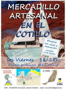 Weekly Artisan Market in El Cotillo @ Plaza Publica | El Cotillo | Canarias | Spain