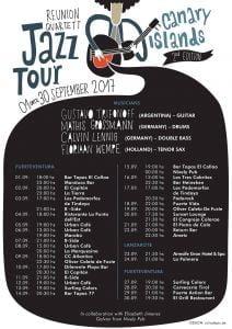 Jazz Tour - Trifo Reunion Quartett 2017 @ Various - See Poster   Canary Islands   Spain