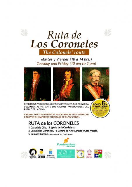 Ruta de los Coroneles, La Oliva, Fuerteventura