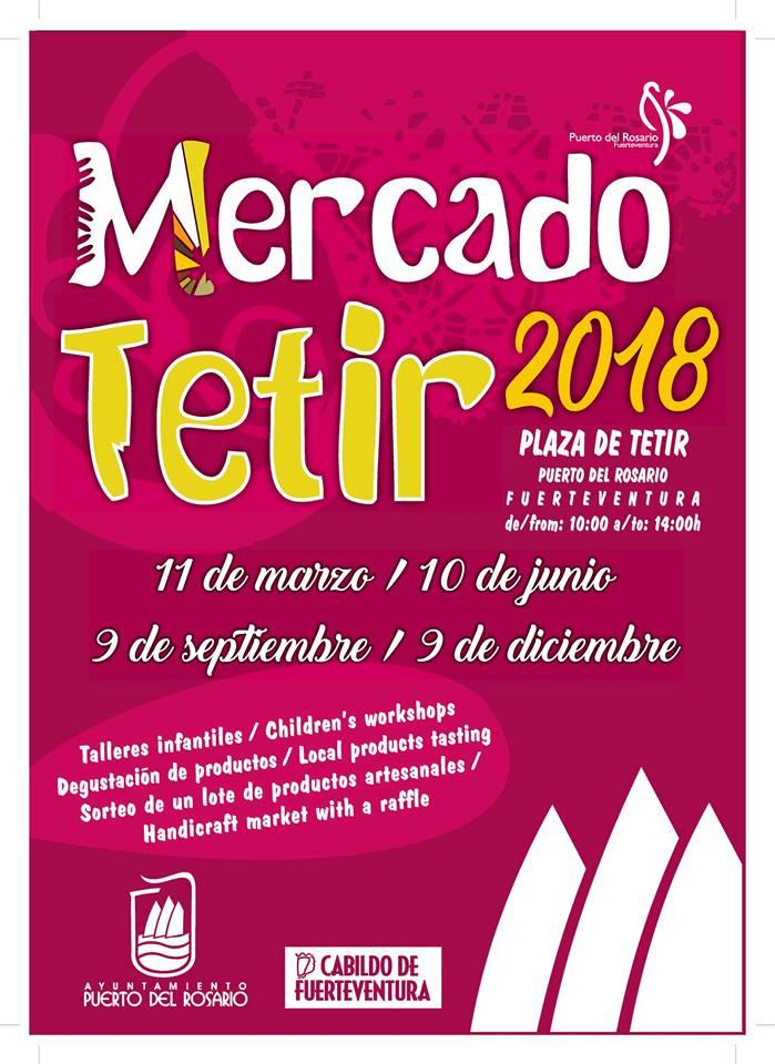 Mercado Tetir 2018, Fuerteventura