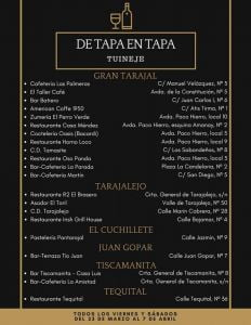 De Tapa en Tapa @ Tuineje   Tuineje   Canary Islands   Spain