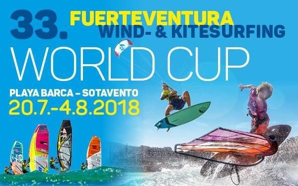 Fuerteventura Wind and Kitesurfing World Cup 2018