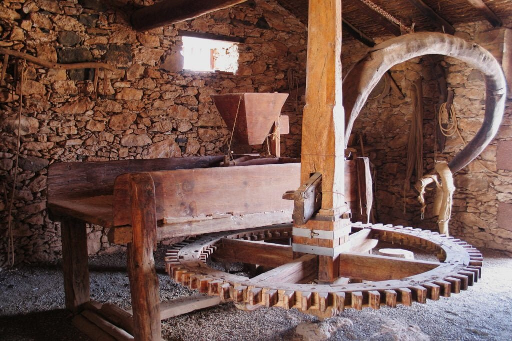Traditional Milling Machinery