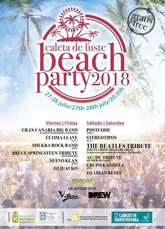 Caleta de Fuste Beach Party 2018