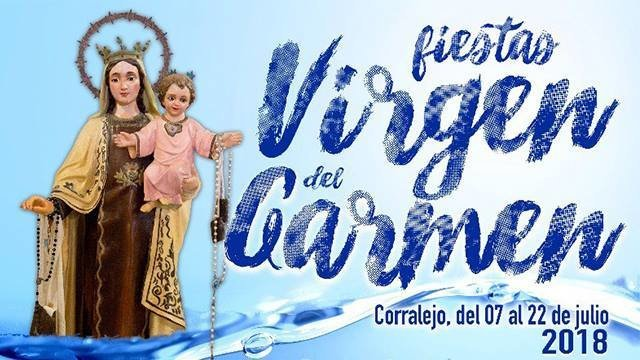 Fiestas Virgen del Carmen Corralejo 2018