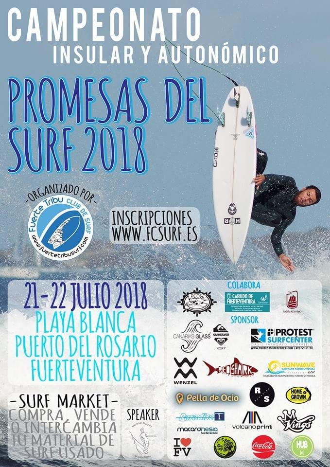 Promesas del Surf 2018, Playa Blanca, Fuerteventura