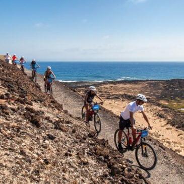E-Bike Tour of Isla de Lobos