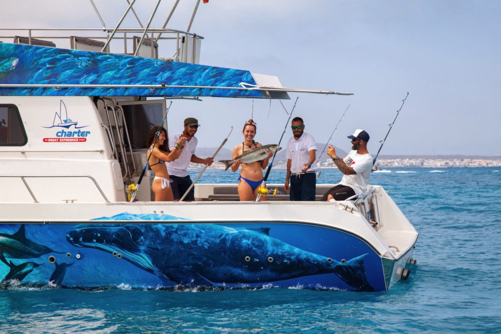 Fishing and swimming excursion from Corralejo