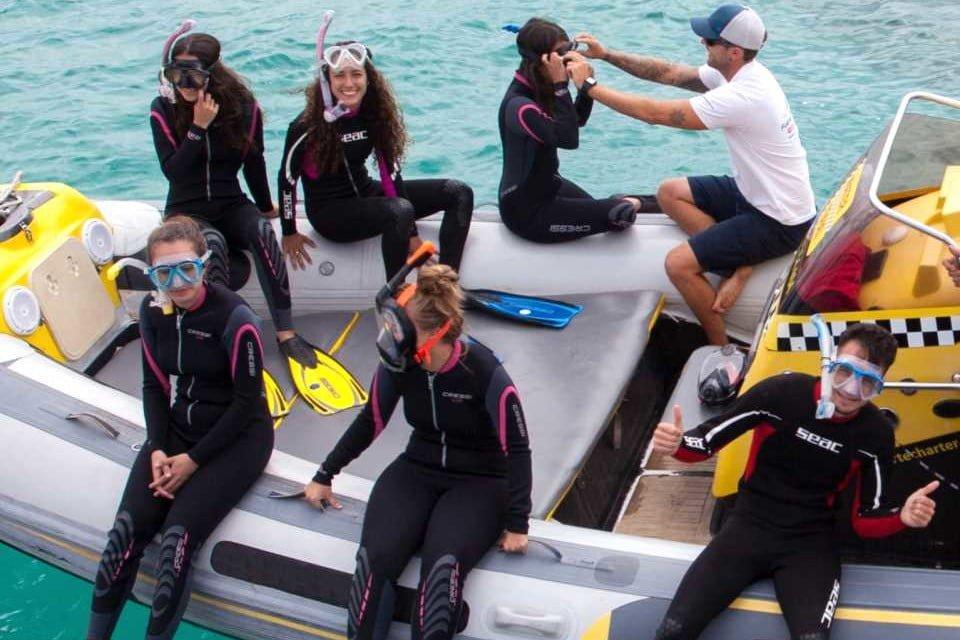 Snorkelling trip from Corralejo