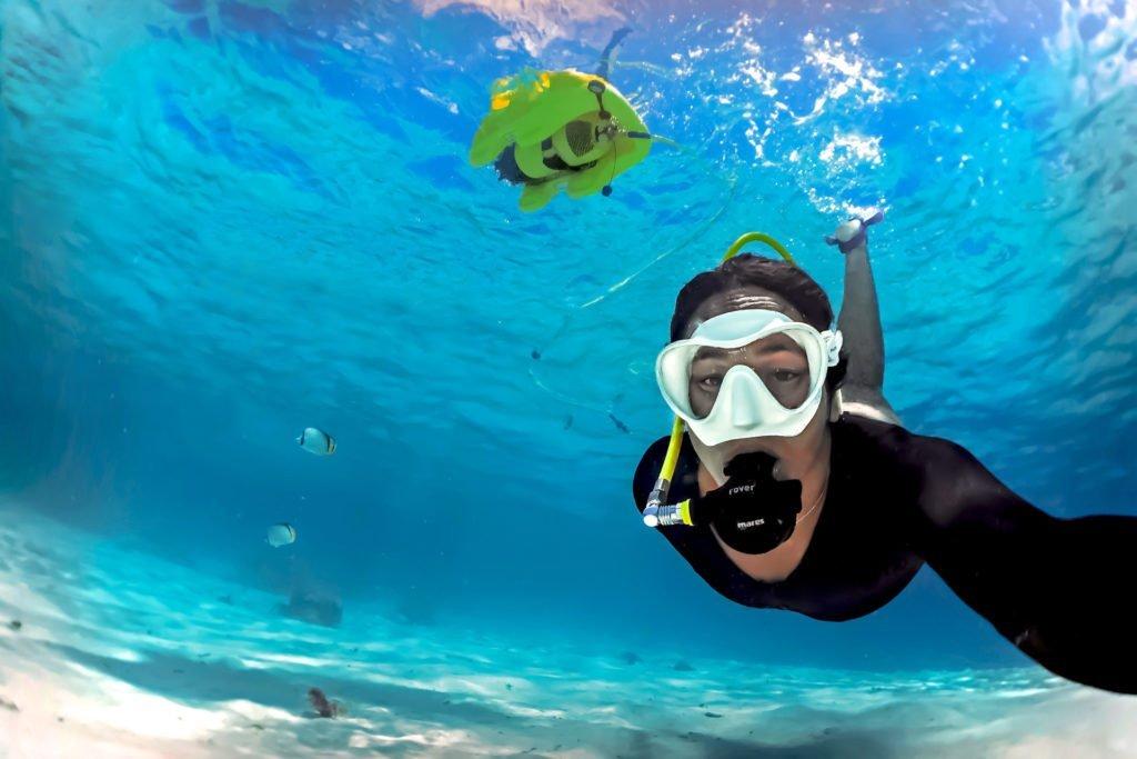 Snuba (Surface-supplied diving) at Isla de Lobos, Fuerteventura